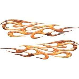 Inferno Tribal Flame Decals Motorcycle, Truck, Car, ATV, etc.   24 h