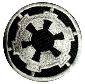 STAR WARS Empire Logo Embroidered Patch Great Rebel