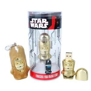 Star Wars C 3PO MIMOBOT designer USB flash drive   1GB