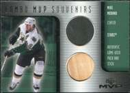 2001/02 Upper Deck MVP Souvenirs Stick Puck Mike Modano #CMM