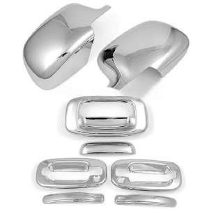 3M Stick On Adhesive Chrome Side Mirror Door Handle Tailgate Cover