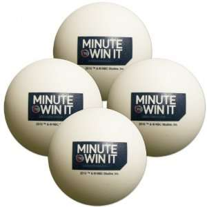 Minute To Win It Ping Pong Ball   Set of 4 Everything