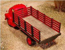 HO stake bed truck retro fit for Sylvan COE V 006 frame