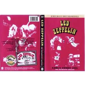 Led Zeppelin Live Earls Court 1975 Double DVD Rare