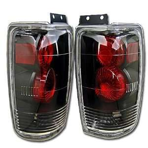 97 98 99 00 01 02 FORD EXPEDITION EURO BLACK TAIL LIGHT