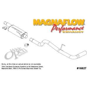 MagnaFlow Cat Back Exhaust System, for the 2005 Nissan