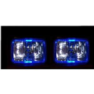 Toyota Pickup Headlights Angel Eye Halo Headlights 1982 1983 1984 1985