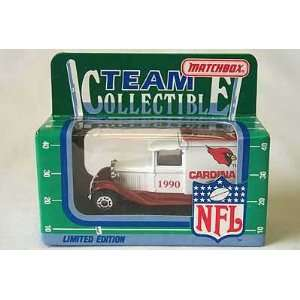 Matchbox White Rose NFL Diecast Ford Model A Truck Collectible Car