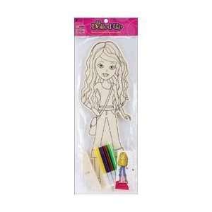 Wooden Doll Marker Kit Coco WDC DM6 7; 6 Items/Order
