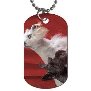 Scottish terriers dogs Dog Tag with 30 chain necklace Great Gift Idea