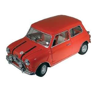 Replicarz K8106R 1969 Austin Mini Cooper in Red with Red