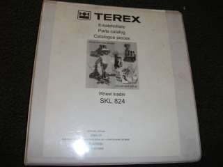 Terex radlader SKL 854 Wheel Loader parts manual