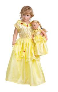 Twin Doll/Girl Belle Princess Dress Up Costume X Large