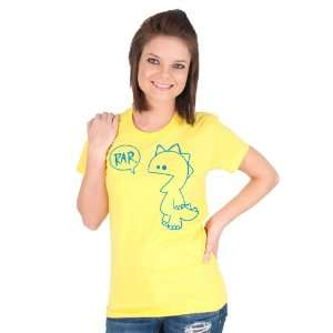 Yellow Rar American Apparel T shirt