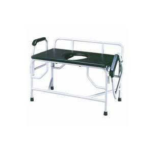 Drive Extra Large Heavy Duty Drop Arm Commode   Weight Capacity 1,000