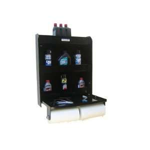 Storage Shop Cabinet Race Car Trailer Shelf Black