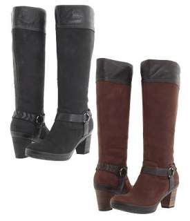 CLARKS GALLERY ETCH WOMENS TALL BOOT SHOES ALL SIZES