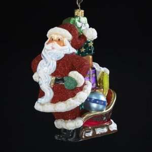 with Sled of Presents Polonaise Christmas Ornament 5