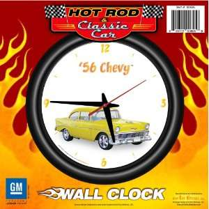 Chevy 12 Wall Clock   Chevrolet, Hot Rod, Classic Car