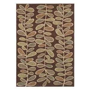 Shaw Angela Adams Fern Dark Brown 07710 Contemporary 77