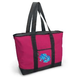 Dolphin Pink Tote Bag