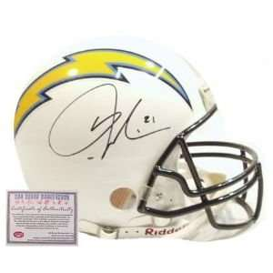 LaDainian Tomlinson San Diego Chargers NFL Hand Signed