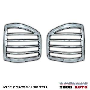 2004 2008 Ford F150 Chrome Tail Light Bezels (FLARESIDE) Automotive