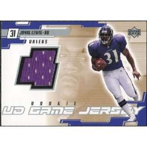 2000 Upper Deck Game Jersey Jamal Lewis #JL Sports Collectibles