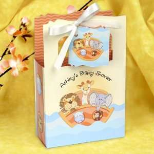 Noahs Ark   Classic Personalized Baby Shower Favor Boxes