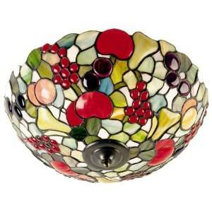 Dale Tiffany Fruit Flush Mount Light