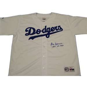 Don Newcombe Autographed Los Angeles Dodgers Jersey