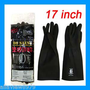 PAIRS  Industrial Heavy Duty Natural Rubber Latex Gloves  SIZE[L