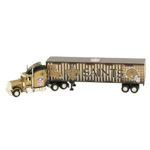 New Orleans Saints 180 Scale NFL Tractor Trailer Sports