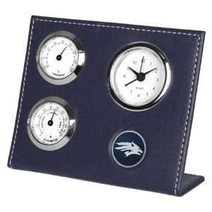 Nevada Wolf Pack NCAA Weather Station Desk Clock Sports