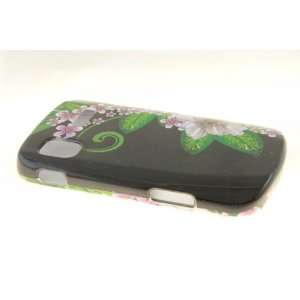 Samsung Focus i917 Hard Case Cover for Green Flower