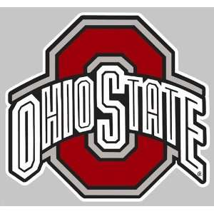 Ohio State Buckeyes Holographic Auto Decal Sports