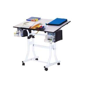 Martin Creation Station Deluxe Hobby Table Arts, Crafts & Sewing
