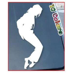 Michael Jackson Car Window Stickers 10 Tall (Color White)