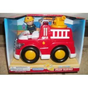 Fire Truck with Lights and Sounds 7 x 4 inchs with little