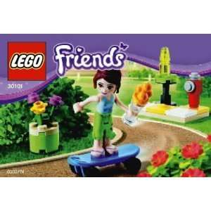 Lego Friends 30101 Skateboarder Mia Toys & Games
