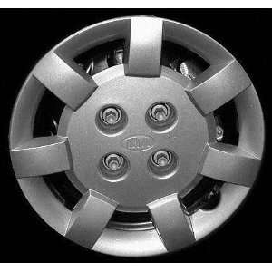 KIA RIO WHEEL COVER HUBCAP HUB CAP 13 INCH, 7 SPOKE BRIGHT SILVER 13