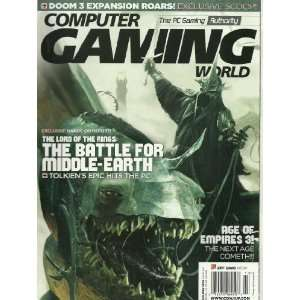 Computer Gaming World Magazine Holiday 2004 The Lord of