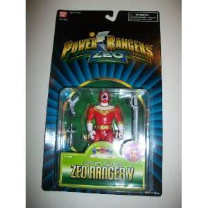 Power Rangers Zeo 1996 Red Ranger MOSC MOC 5 1/2 Figure