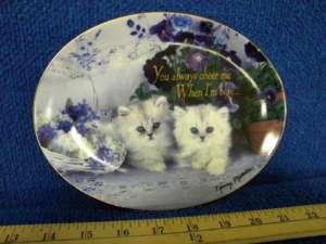 FRANKLIN MINT plate True Blue Friends Nancy Matthews