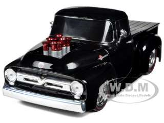 1956 FORD F 100 PICKUP TRUCK BLACK 1/24 DIECAST MODEL CAR M2 MACHINES