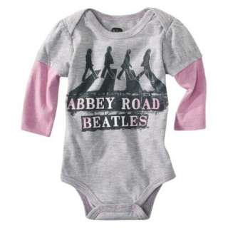 BEATLES ABBEY ROAD Newborn Girls Bodysuit Onesie NWT