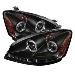 Spyder Auto PRO YD NA02 HL BK Black Halo LED Projection