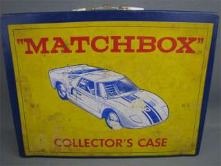 Vintage 1966 MATCHBOX Collectors Carry Case #41 Empty