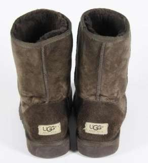 UGG Australia Brown Suede Boots Fleece Lined 10