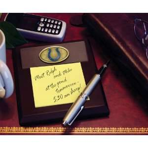 INDIANAPOLIS COLTS Team Logo Medallion MEMO PAD HOLDER (5